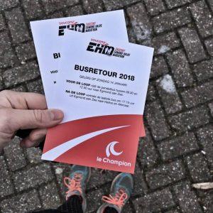 Egmond Halve Marathon Bustickets