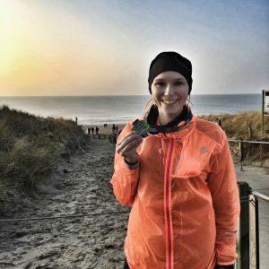 Egmond Halve Marathon Finisherfoto