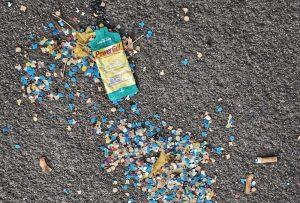 Frankfurt Marathon Überreste