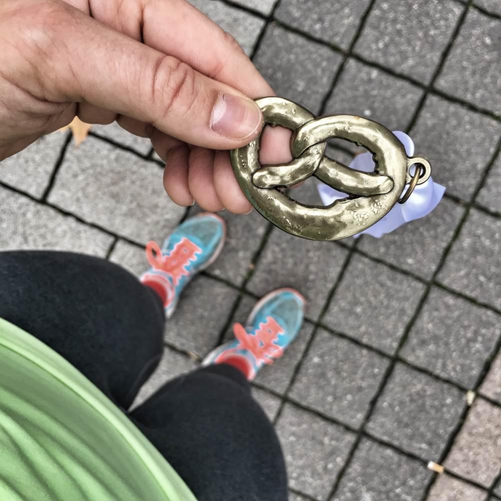 Frankfurt Marathon Brezellauf