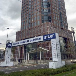 Frankfurt Marathon Start