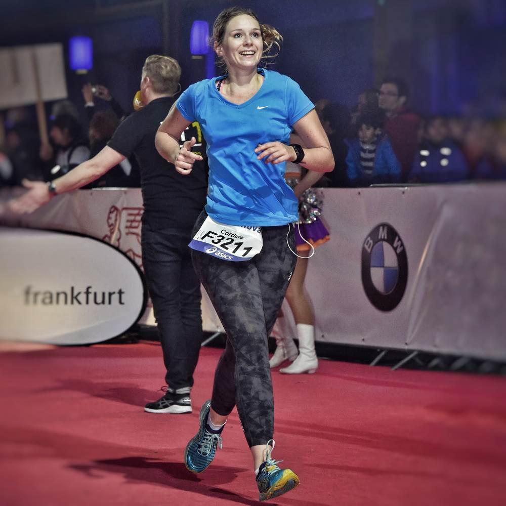 Frankfurt Marathon Zieleinlauf